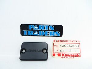 NOS Genuine Kawasaki Brake Master Cylinder Cap KD80 88-90 Tecate KXT250 84-87