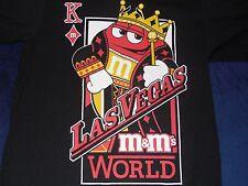 M&M's World Las Vegas Red K King T-Shirt Adult Medium