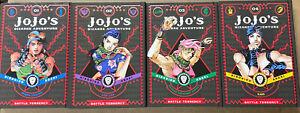 NEW JoJo's Bizarre Adventure Battle Tendency Manga Volumes 1-4 Set Lot JOJONIUM
