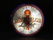 Vintage Michelob Light Beer Motion Lighted Sign Advertising Bar Pub Man Cave