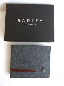 Radley Clerkenwell Grey Wallet BNWT In Presentation Box