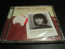 """CD NEUF """"JULIETTE GRECO - FRENCH LEGENDS FROM THE 50'S AND 50'S"""" 14 TITRES"""