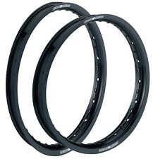 Moose Racing Aluminum Rims Front & Rear 01-14 YZ125 YZ250F Black