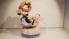 (Lot 523) Walt Disney Collectables -  Minnie's Tea Party Musical Figurine