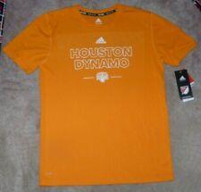 NEW ADIDAS MLS Houston Dynamo Soccer T Shirt Youth Boys XL 18 Climalite NEW NWT