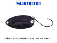 CARDIFF ROLL SWIMMER  SPOON  GR 3,5 col. 12S BLACK TROUT AREA SHIMANO JAPAN
