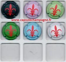 Capsules de champagne Générique SERIE  Fleurs de Lys  2021