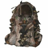 Camouflage Face 3D Leaf Stereo Turkey Hunting Hat Camo Face Balaclava X4L1