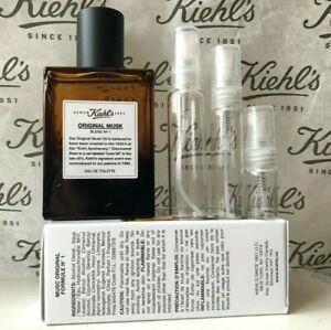 Kiehl's Original Musk Eau de Toilette sample decant 2ml 5ml 10ml