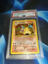 PSA 1 CHARIZARD Base #4 Holo 1999 Pokemon