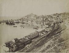 Ancona Panorama Italie Italia Vintage albumine ca 1875