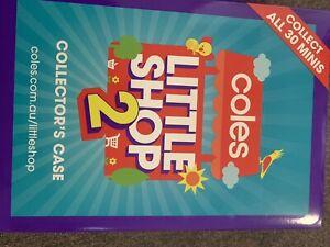 Coles Little Shop 2 Full Set In Folder Minis