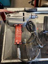"Milwaukee 1/2"" Drill 1660-1 Heavy Duty 450 RPM Tested W/handle & Chuck"