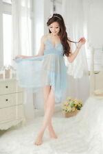 Sexy Lingerie Set Dress Women Nightwear Underwear Sleepwear+G-string Babydoll
