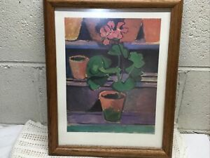 Art Pot of Geraniums Matisse National Gallery Print 16 X 13