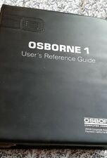 OSBORNE 1 User Reference Guide Bound 1981 Computer Computing