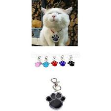 Chic Stainless Steel Paw Print Pendant Necklace Charm Tag For Pet Dog Cat A #Cu3