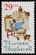 1994 29c Norman Rockwell, 20th-Century American Painter Scott 2839 Mint F/VF NH