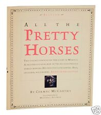 Cormac McCarthy All The Pretty Horses Advance Excerpt Great Copy 1992