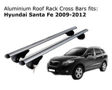 Aluminium Roof Rack Cross Bars fits Hyundai Santa Fe 2009-2012