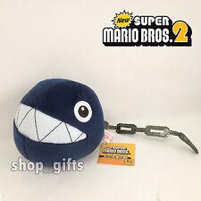 "New Super Mario Bros. 3D Land Plush Chain Chomp Soft Toy Stuffed Animal Teddy 5"""