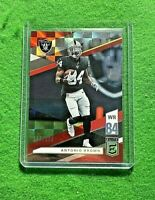 ANTONIO BROWN PRIZM ELITE RED CARD SP#/299 RADIERS 2019 DONRUSS ELITE FOOTBALL