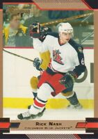 2003-04 Bowman Gold Parallel Hockey Cards Pick From List