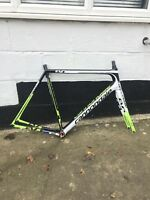 Cannondale Supersix Evo Hi-Mod Carbon Road Bike Frameset 58cm Team Colourway