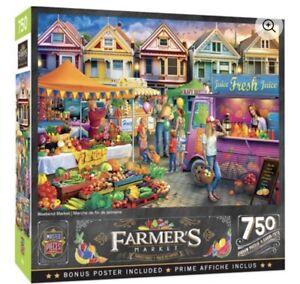 MasterPieces Farmer's Market - Weekend Market 750 Piece Jigsaw Puzzle