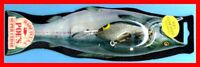 Vintage 1987 (Turlock) POE'S SUPER CEDAR Gray Glitter Fishing Lure #1191
