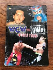 WCW Vs. NWO World Tour (missing cover) N64 Nintendo 64 Instruction Manual Only