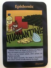 Illuminati New World Order Card (INWO) Epidemic Game Card MINT