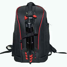 Camera Backpack Bag Case + Tripod for Canon EOS Rebel T5 T5i Nikon D7200 & More