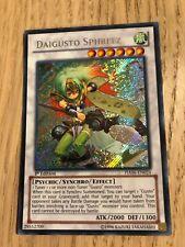 Daigusto Sphreez HA06-EN024 Secret Rare Yugioh Card