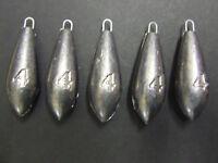 10 x 4oz FFT PRO Beach Bomb Lead Weights Lure Cod Sea Pier Mackerel Bait Fishing