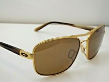 Authentic Oakley OO4116-05 Sanctuary Satin Gold Tungsten Irdm P Sunglasses $245