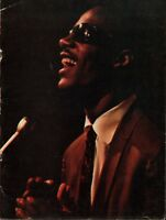 STEVIE WONDER 1969 MY CHERIE AMOUR TOUR CONCERT PROGRAM BOOK BOOKLET / VG 2 NMT