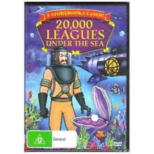 20000 Leagues Under The Sea DVD Storybook Classic Animation Jules Verne R4