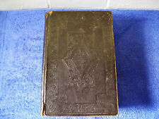 Victorian Holy Bible 1840 Old & New Testaments British & Foreign Bible Society