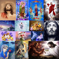 5D DIY Full Drill Diamond Painting Easter Man Cross Stitch Embroidery Kits Craft