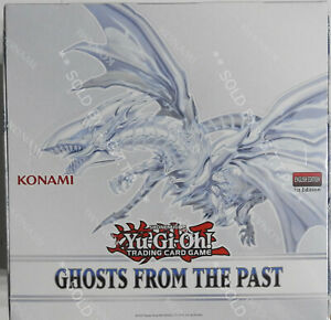 YUGIOH! - GHOSTS FROM THE PAST - SEALED DISPLAY UNIT- 1ST EDITION - 5 BOXES