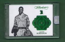 2017 Flawless Jackie Robinson Encased Emerald SSP #1/5
