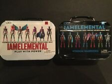 IAMELEMENTAL Series 1 Courage & Series 2 Wisdom Lunchboxes Still Sealed