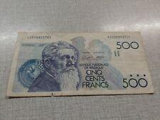 billet de 500 francs belgique