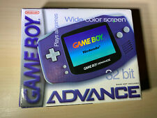 Nintendo Game Boy GameBoy Advance Indigo Handheld System Brand New