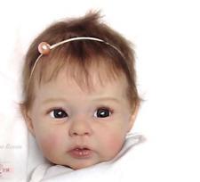 Newborn Doll Kit Reborn Dolls Kits Supplies soft vinyl Head + 3/4 Limbs 20'' New