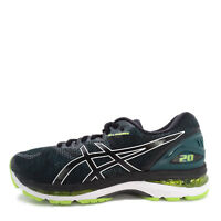 Asics GEL-Nimbus 20 [T800N-004] Men Running Shoes Black/Neon Lime