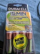 Duracell 15 Min Charger - CEF15DX4N - AA/AAA