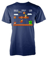 Retro Gaming Mario Bros Nintendo Platform game Adult T-Shirt