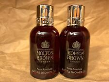 "Molton Brown London ""Rosa Absolute"" Bath & Body Wash Gel (1.7oz x 2) New"